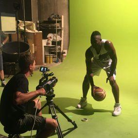 Foto di Backstage dall'ultimo video per l'azienda Mandelli Sistemi